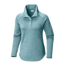Women's Columbia Plus Size Optic Got It III Long Sleeve Pullover