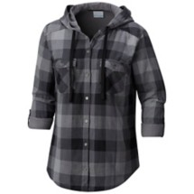 Women's Columbia Plus Size Times Two Hooded Long Sleeve Shirt