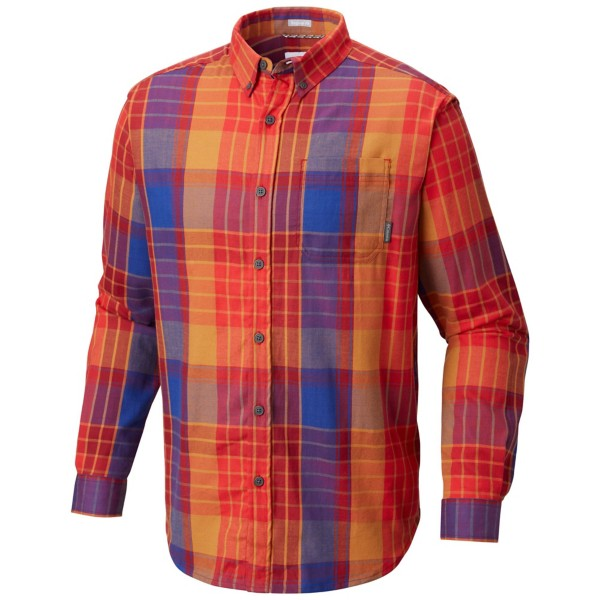 Red Spark Large Plaid