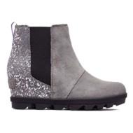 Grade School Girls' Sorel Joan of Arctic Wedge II Chelsea Boots