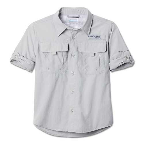 Boys' Columbia PFG Bahama Long Sleeve Shirt