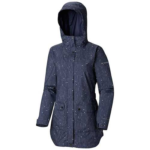 Women's Columbia Plus Size Here And There Trench Rain Jacket