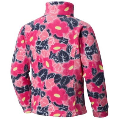 942bc8e1 Grade School Girls' Columbia Benton Springs II Printed Fleece Jacket ...