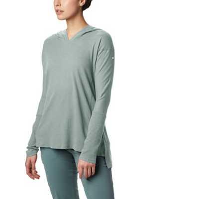 Women's Columbia Longer Days Hooded Long Sleeve Shirt