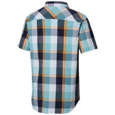 c6ccde6ce46 Men's Columbia Thompson Hill Yarn Dye Short Sleeve Shirt | SCHEELS.com