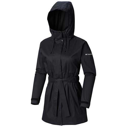 Women's Columbia Plus Size Pardon My Trench Rain Jacket