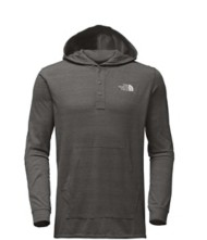 Men's The North Face Henley Tri-Blend Long Sleeve Hoodie