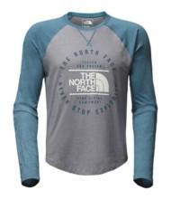 Men's The North Face Double Bar Raglan Baseball Long Sleeve Shirt