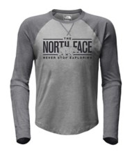 Men's The North Face Double Bar Raglan Long Sleeve Shirt