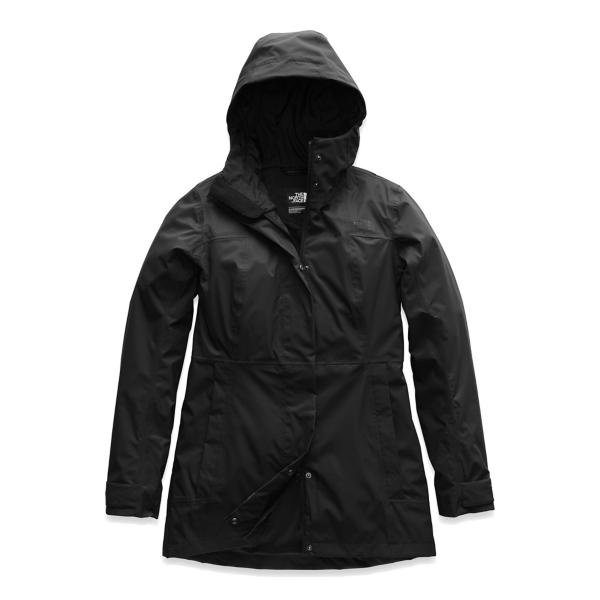 fe5ed0f8982c ... Women s The North Face City Midi Trench Tap to Zoom  TNF Black Tap to  Zoom  Pink Salt