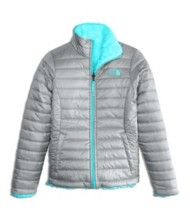 Youth Girls' The North Face Reversible Mossbud Swirl Jacket