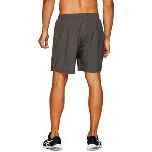 """Men's ASICS Silver 7"""" Running Shorts"""