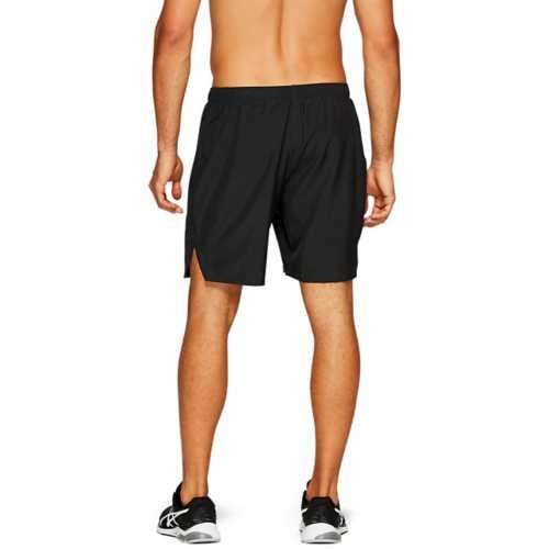 """Men's ASICS Silver 7"""" 2-In-1 Running Shorts"""