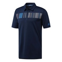 Men's adidas Chest Print Golf Polo