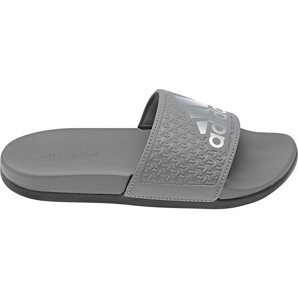 224090d5e5df ... Preschool Boys  adidas Adilette Comfort Slides Tap to Zoom  Grey