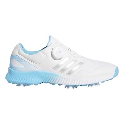 039fb986c ... Cloud White Silver Metallic Bright Cyan Tap to Zoom  Women s adidas  Response Bounce BOA Golf Shoes