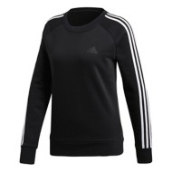 Women's adidas Essentials 3Stripe Fleece Crewneck Sweatshirt