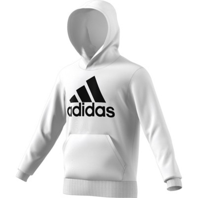 Men's adidas Essentials Linear Pullover French Terry Hoodie