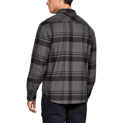 3c3b6a7117 Men's Under Armour Borderland Flannel Shirt