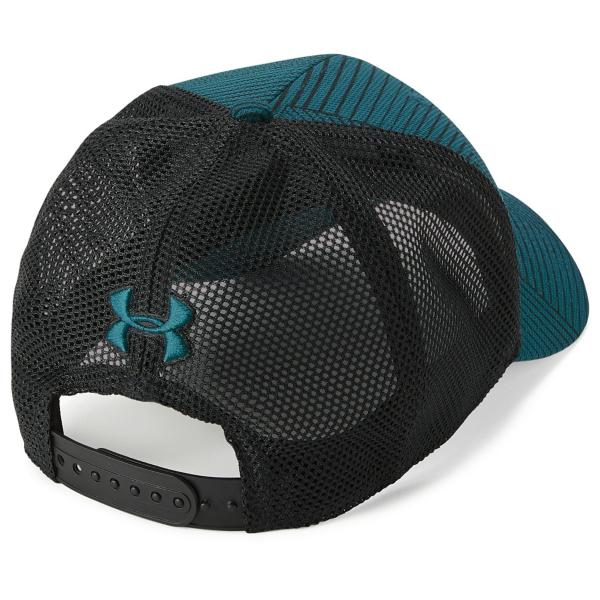 ... Men s Under Armour Blitzing Trucker 3.0 Cap Tap to Zoom  Steel Graphite  Tap to Zoom  Techno Teal Black 05704c553ced