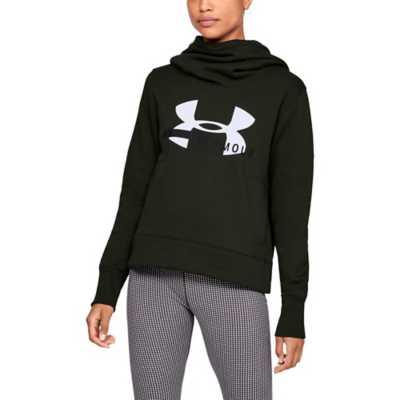 Women's Under Armour Cotton Fleece Sportstyle Logo Hoodie