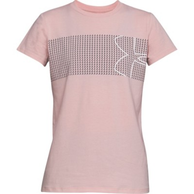 5f212423 Women's Under Armour Graphic Classic Crew Chest Logo T-Shirt