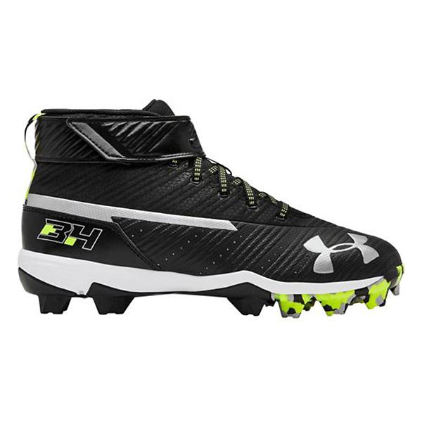 0c02c26abce2 Tap to Zoom; Red Tap to Zoom; Grade School Boys' Under Armour Harper 3 Mid RM  Jr. Rubber Molded Baseball Cleats