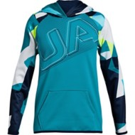 Youth Girls' Under Armour Fleece Logo Hoodie