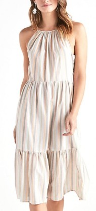 Women's Lucky Brand Pastel Striped Dress