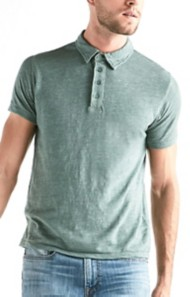 Men's Lucky Brand Linen Polo