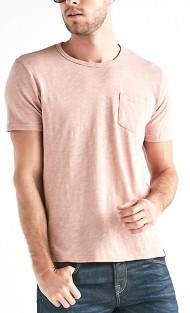 Men's Lucky Brand Linen Pocket Short Sleeve Shirt