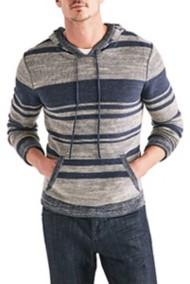 Men's Lucky Brand Blanket Stripe Hoodie