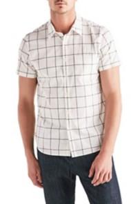 Men's Lucky Brand One Pocket Ballona Short Sleeve Shirt