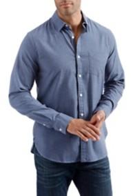 Men's Lucky Brand One Pocket Railroad Stripe Long Sleeve Shirt