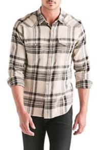 Men's Lucky Brand Santa Fe Western Long Sleeve Shirt