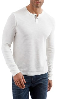 Men's Lucky Brand Long Sleeve Thermal Henley