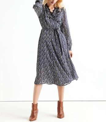 Women's Lucky Brand Printed Wrap Dress