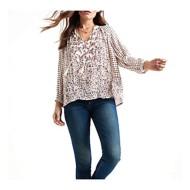 Women's Lucky Brand Peasant Long Sleeve Shirt