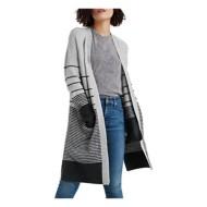 Women's Lucky Brand Stripe Cardigan