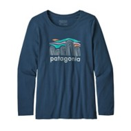 Youth Girls' Patagonia Graphic Organic Long Sleeve Shirt
