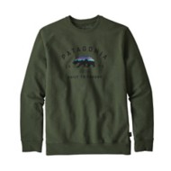 Men's Patagonia Arched Fitz Roy Bear Uprisal Crew Sweatshirt