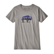 Women's Patagonia Fitz Roy Bison Organic Crew T-Shirt
