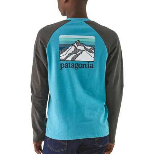 Men's Patagonia Line Logo Ridge Lightweight Crew Sweatshirt