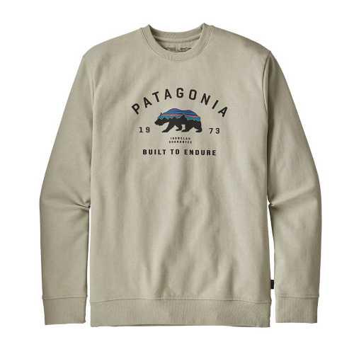 Men's Patagonia Arched Fitz Roy Bear Uprisal Crew Sweatshirt