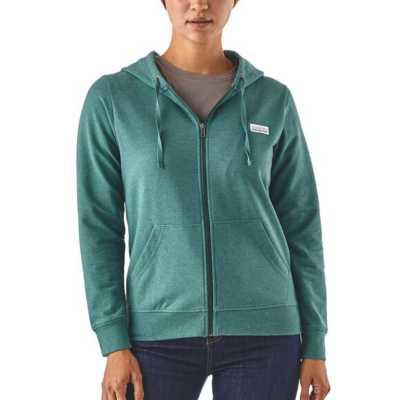 Women's Patagonia Pastel P-6 Label Ahnya Full-Zip Hoodie
