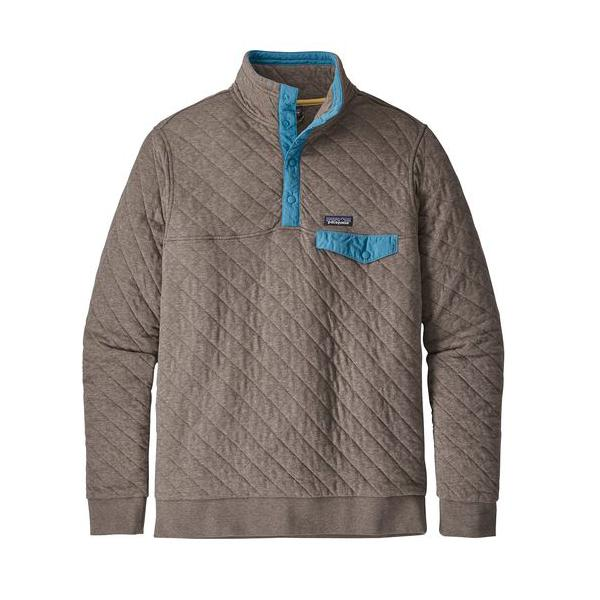41927e21b1d Tap to Zoom  Burnie Brown Tap to Zoom  Men s Patagonia Organic Cotton Quilt  Snap-T Pullover