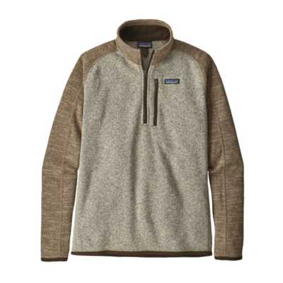 Men's Patagonia Better Sweater 14 Zip Pullover