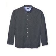 Men's Dockers Tall Long Sleeve Comfort Stretch Button Up T-Shirt