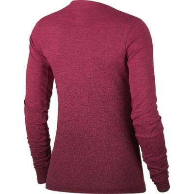 Women's Nike Medalist Long Sleeve Running Shirt' data-lgimg='{