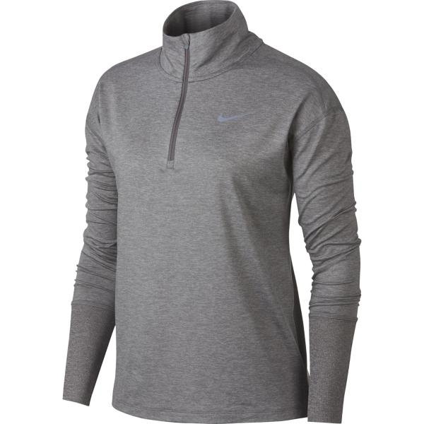 1612d5f8 ... Women's Nike Element Long Sleeve Running 1/2 Zip Tap to Zoom;  Gunsmoke/Atmosphere Grey/Htr